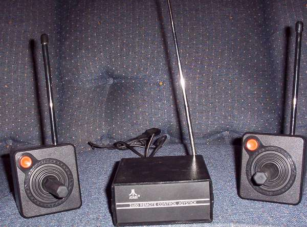 Atari Wireless Joysticks